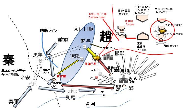 210368d4ced1be40f6bafea33f2a8a21 - キングダム第525話のネタバレ予想~地図の解説付