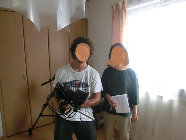 MediaInterview1 - テレビのインタビュー受ける~本ブログでアメリカ向け!【注意点5つ】