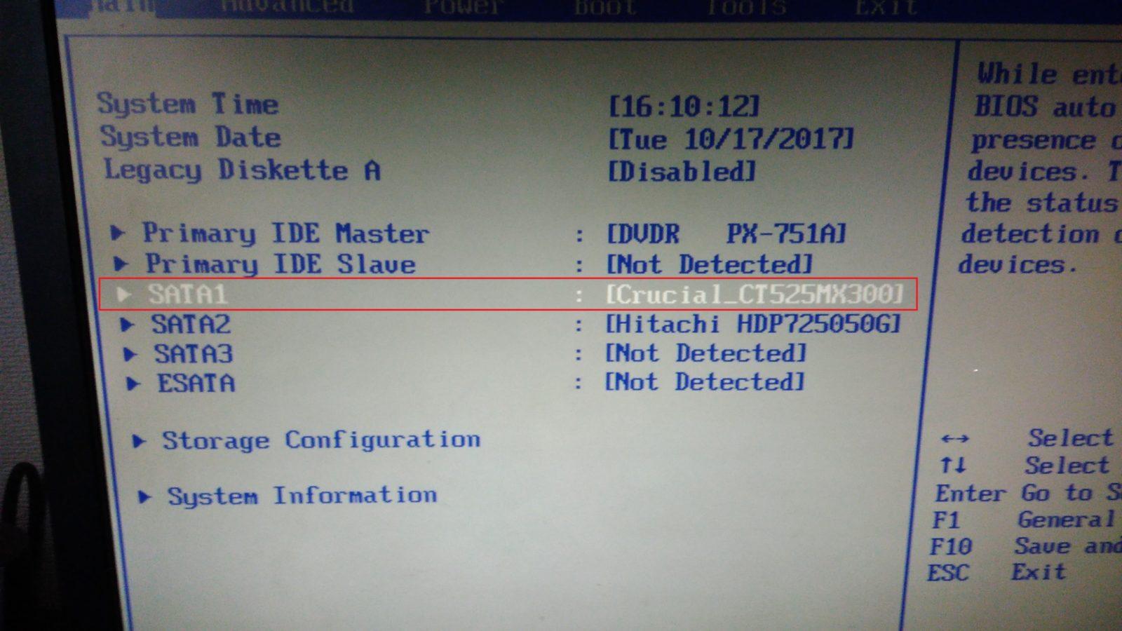 P 20171017 160938 1600x900 - VISTAマシンを7にそしてSDDで高速化~詳細手順と動画で解説!