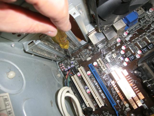 CIMG3909 1 - PC フリーズ&ブルースクリーンの頻繁~対処の最終手段はクリーニング