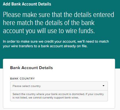 Poloniex Bank Account Details 1 - 仮想通貨のドルの出金・入金~Poloniex 銀行設定~海外送金する方法