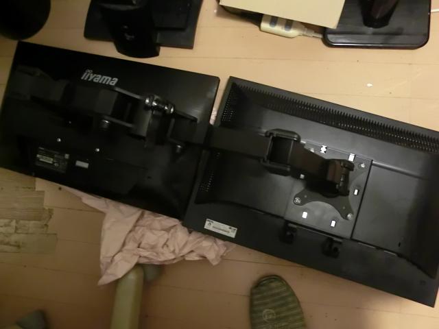 CIMG4092 - PCのデュアルモニター(2つのディスプレイ)の方法とアームの組立て方法