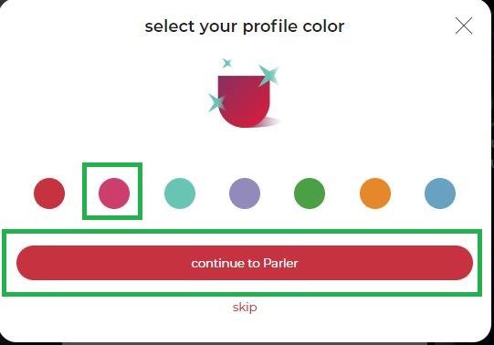 Parler7 - Parlerのアカウントの開設方法~Twitter/Facebookに取って代わるか?